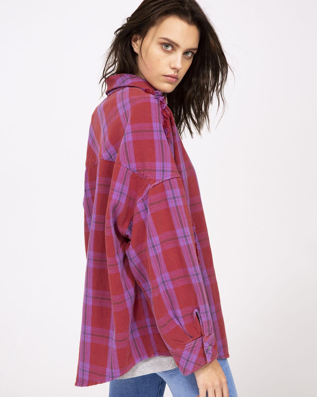 Bashful Shirt Purple by IRO Paris