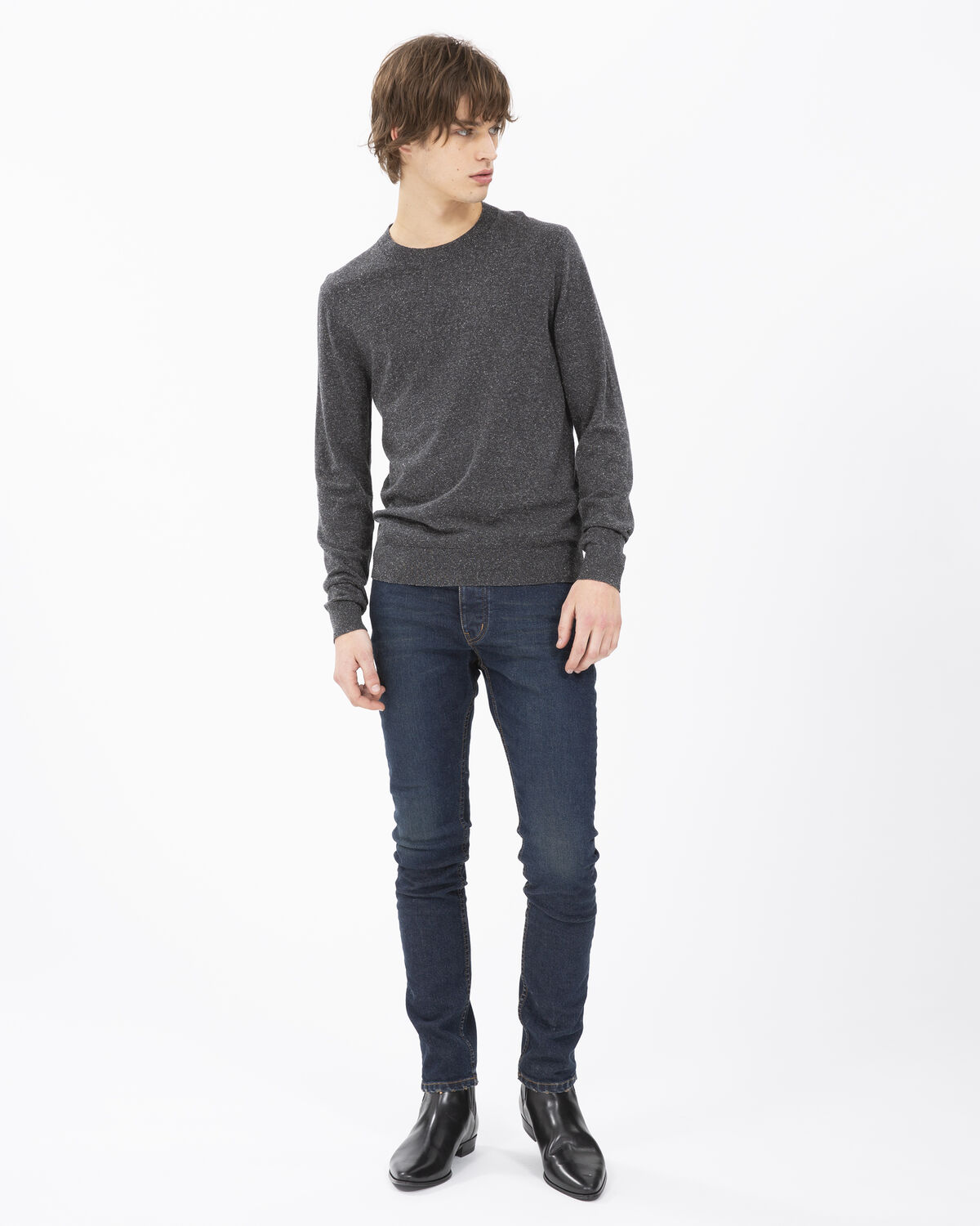 IRO - DEVOTED SWEATER DARK GREY