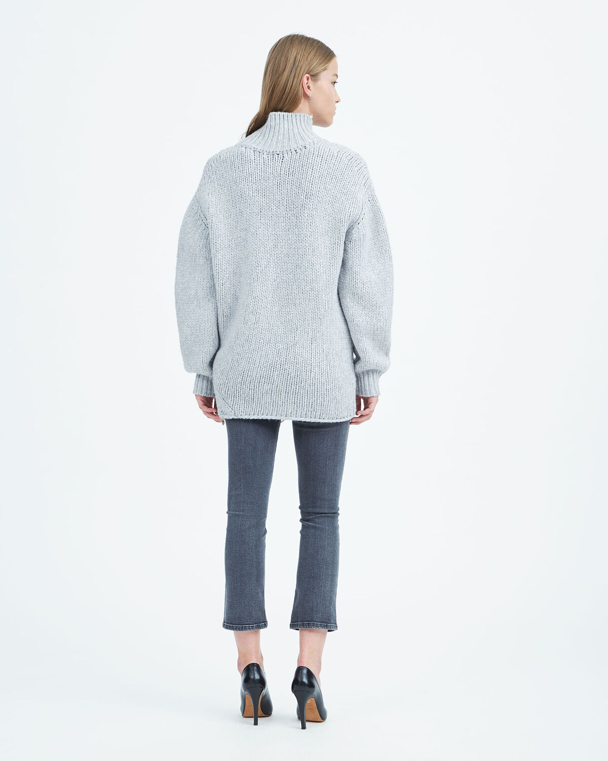IRO - PULL VASEN LIGHT GREY