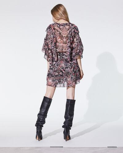 IRO - PIATA DRESS BLACK/RED