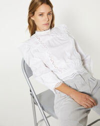 IRO - AVIL TOP WHITE