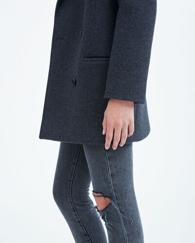 IRO - KALSO COAT ANTHRACITE