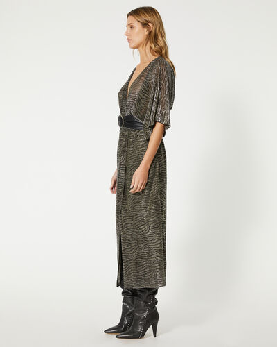 IRO - VOLSUN DRESS DARK GREY