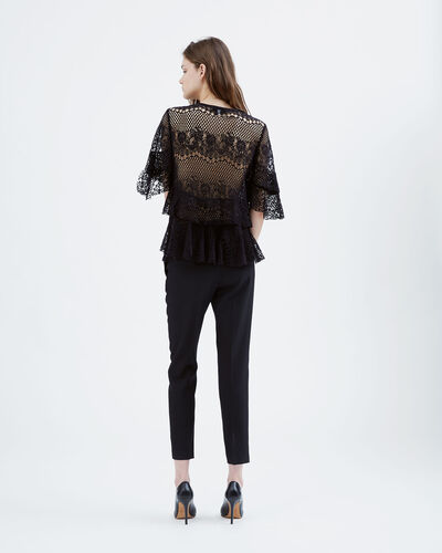 IRO - PILGRIM TOP BLACK