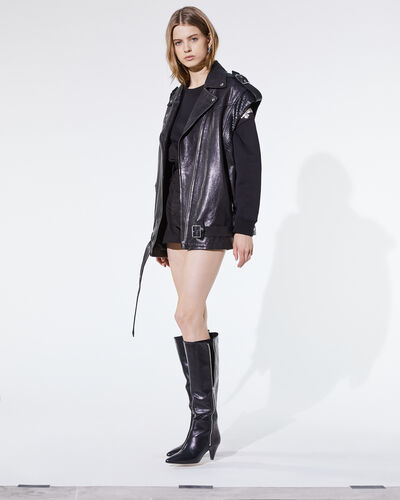 IRO - ANELLY LEATHER JACKET BLACK