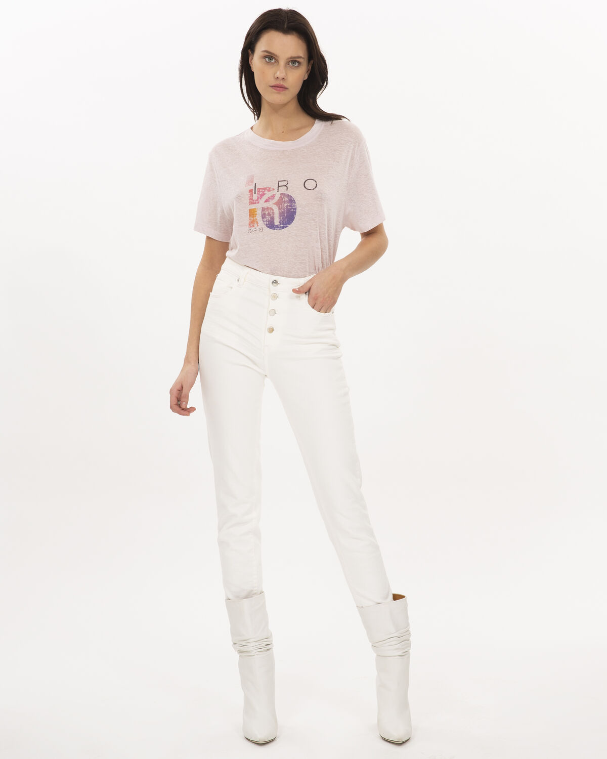 IRO - INSPIRING T-SHIRT LIGHT LAVENDER