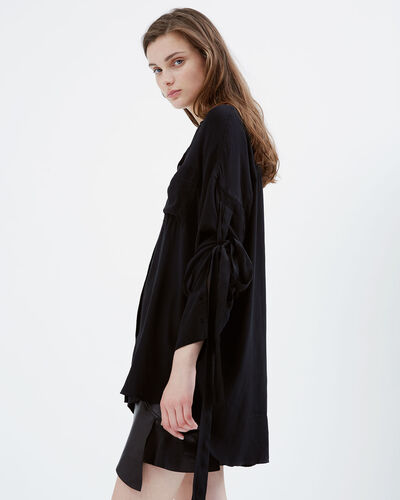 IRO - COBI SHIRT BLACK