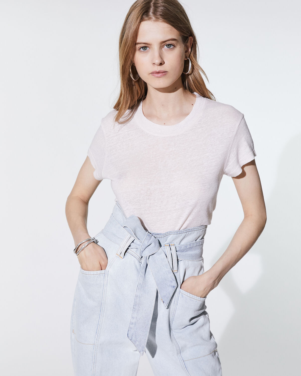 Third T-Shirt Near White by IRO Paris