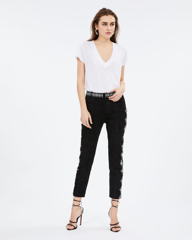 Adnan Pants Black And White by IRO Paris