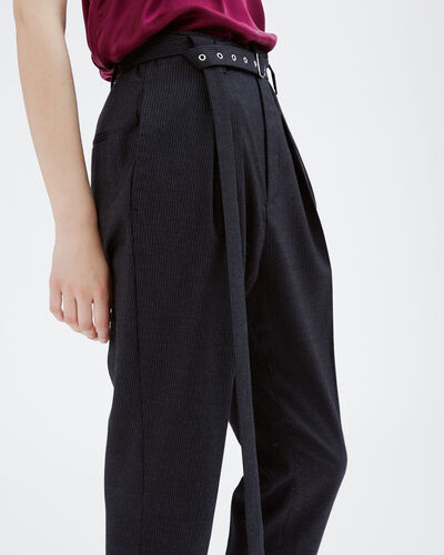 IRO - LANDIS PANTS BLACK/ECRU