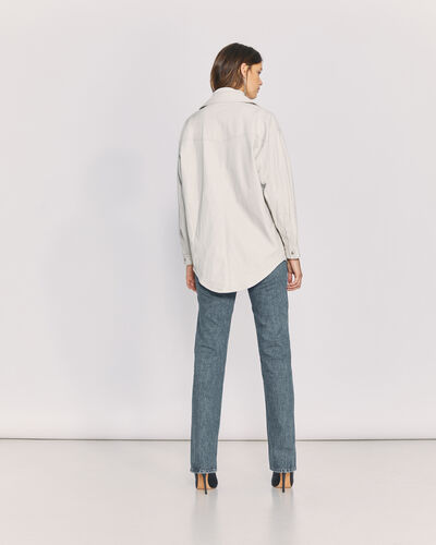 IRO - EDDA OVERSHIRT OFF WHITE