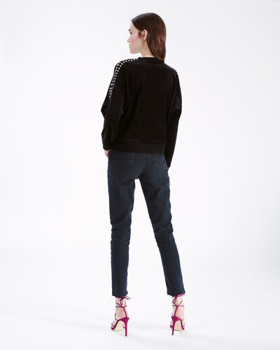 IRO - TAPES SWEATER BLACK