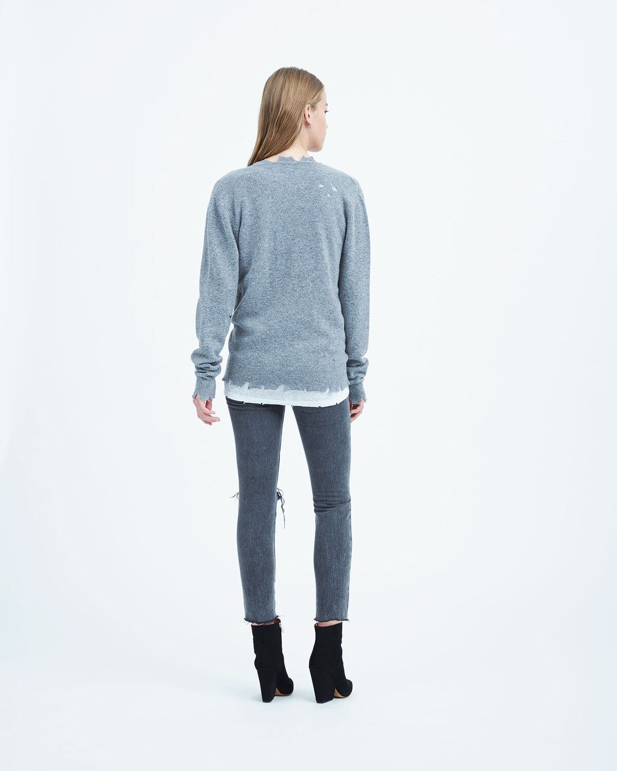 IRO - BRODY SWEATER GREY