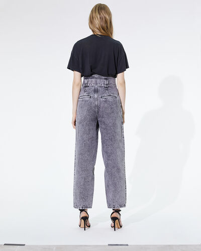 IRO - VYOLA TROUSERS SNOW BLACK