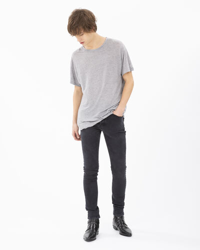 IRO - ACCURATE T-SHIRT MIXED GREY