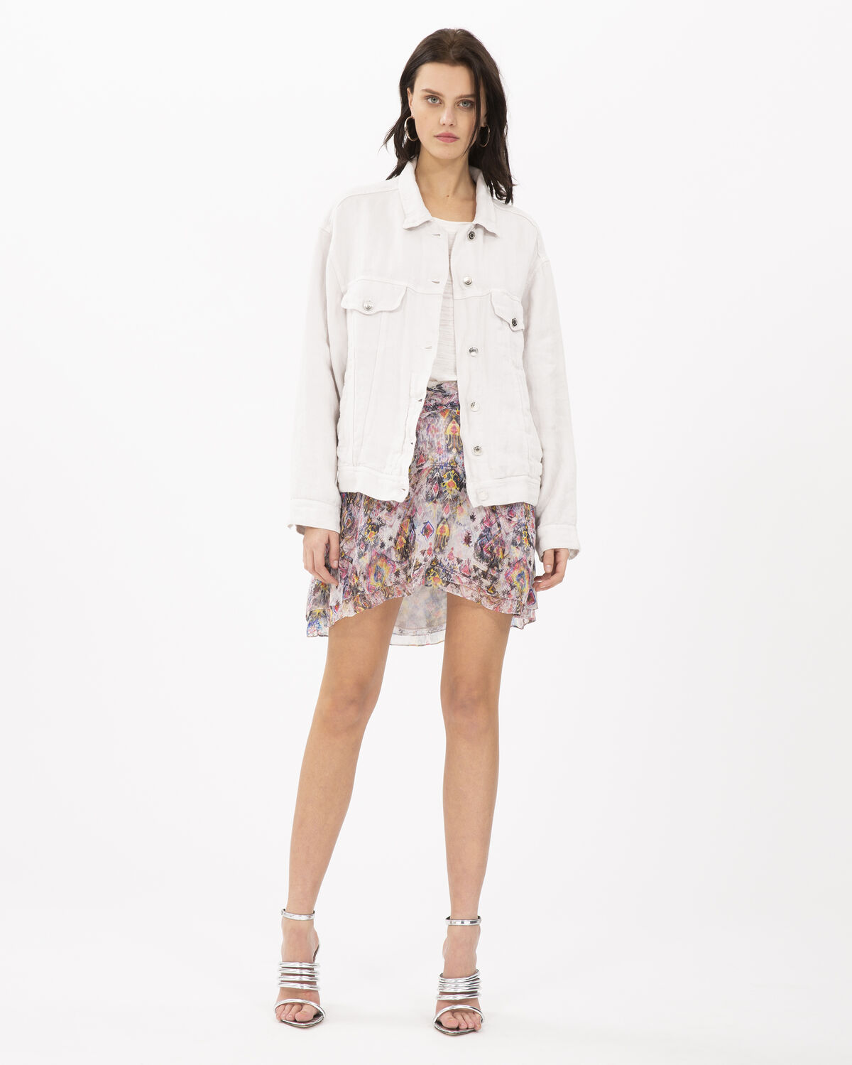 Heed Jacket Chalk by IRO Paris