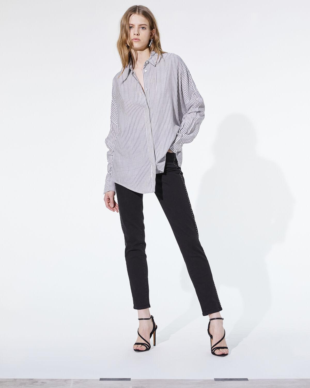 Markina Shirt Black And White by IRO Paris