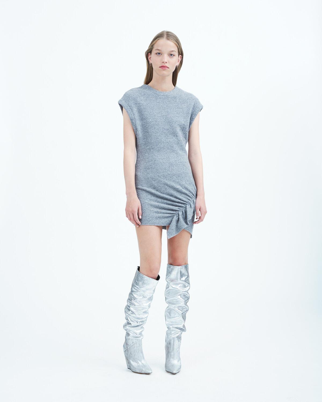 IRO - TORDA DRESS STONE GREY