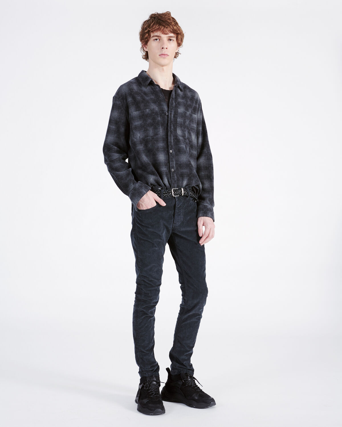 IRO - PHYSICAL SHIRT BLACK