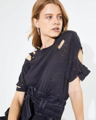 IRO - COOPER T-SHIRT BLACK