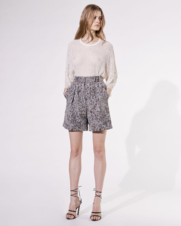 Vainness Shorts Grey by IRO Paris