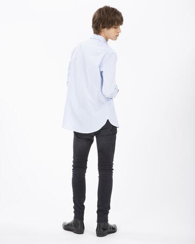 IRO - RADIATE SHIRT WHITE/BLUE