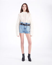 IRO - MAGNETIC SHORT DENIM BLUE