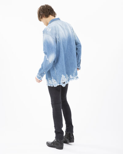 IRO - INSIGHT SHIRT BLUE