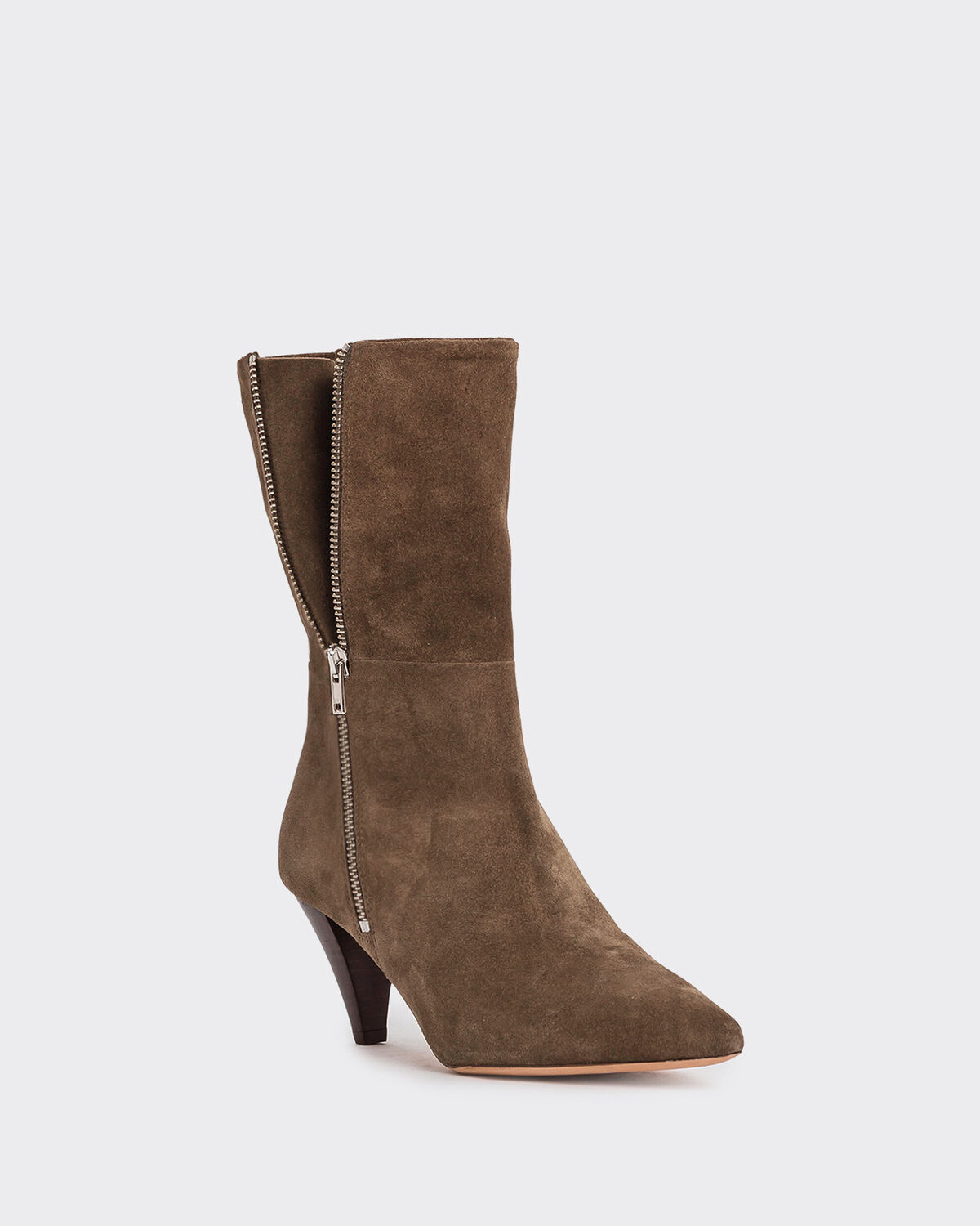 IRO - BOTTINES LILIA BROWN