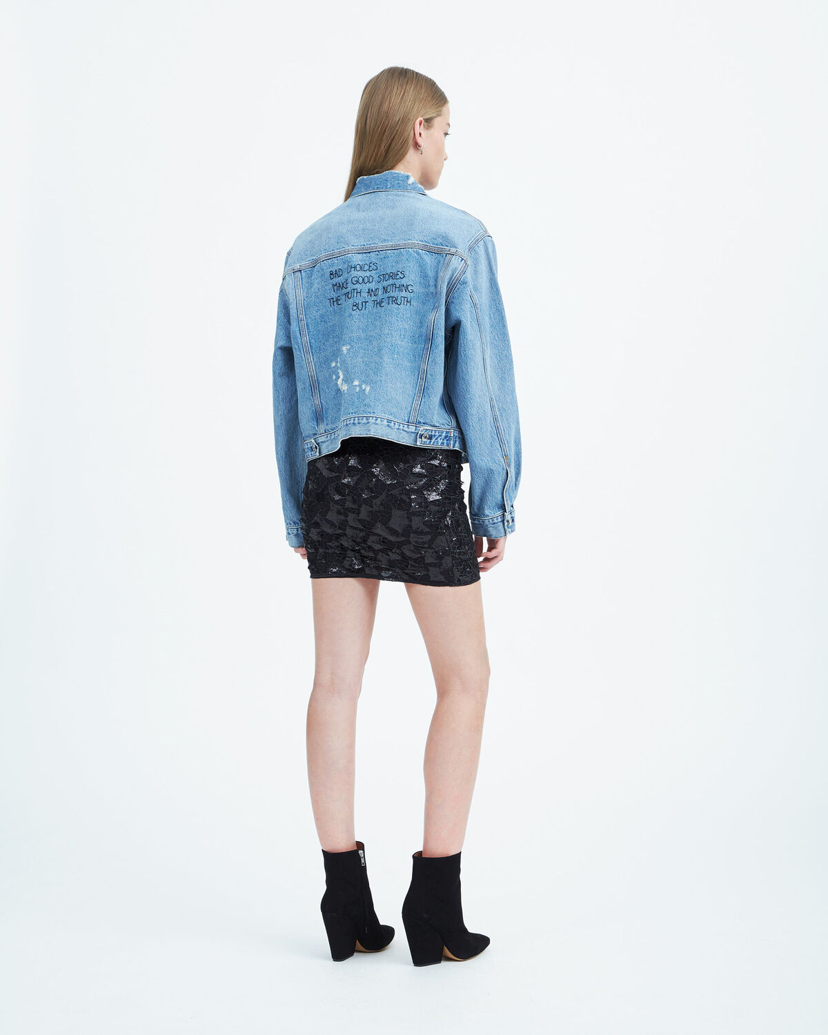 IRO - BILL.US JEANS JACKET LIGHT BLUE DENIM