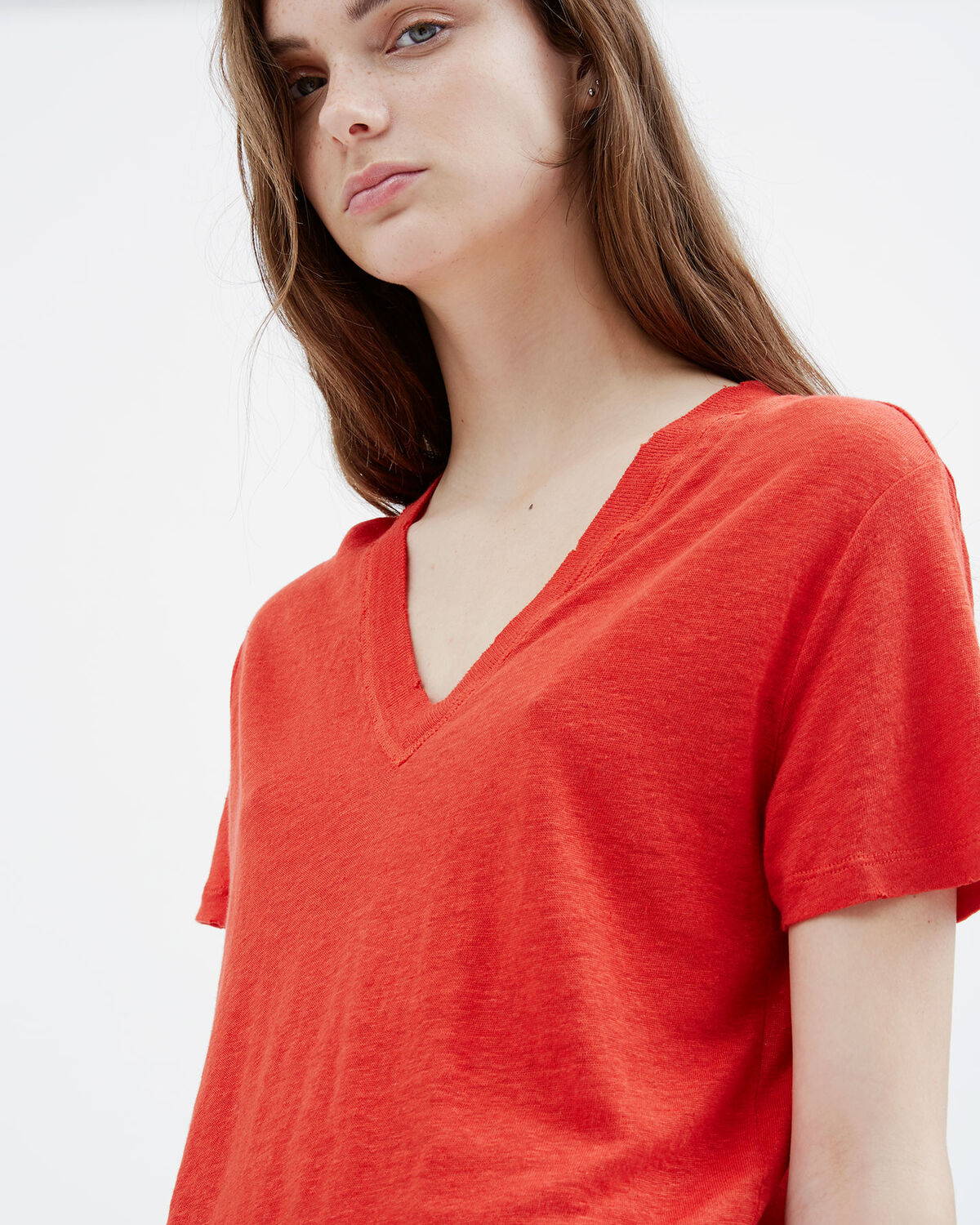 IRO - LIBBY T-SHIRT RED