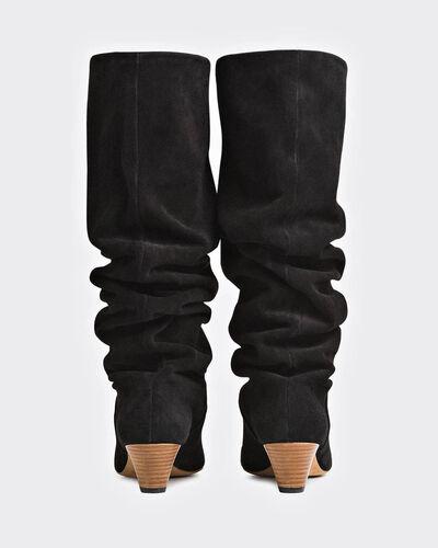 IRO - DRAPY BOOTS BLACK