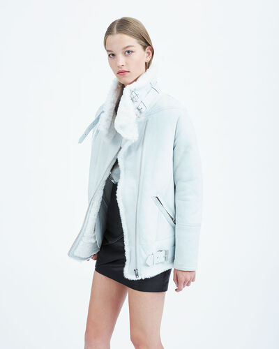 IRO - BARRETT COAT CLOUDY WHITE