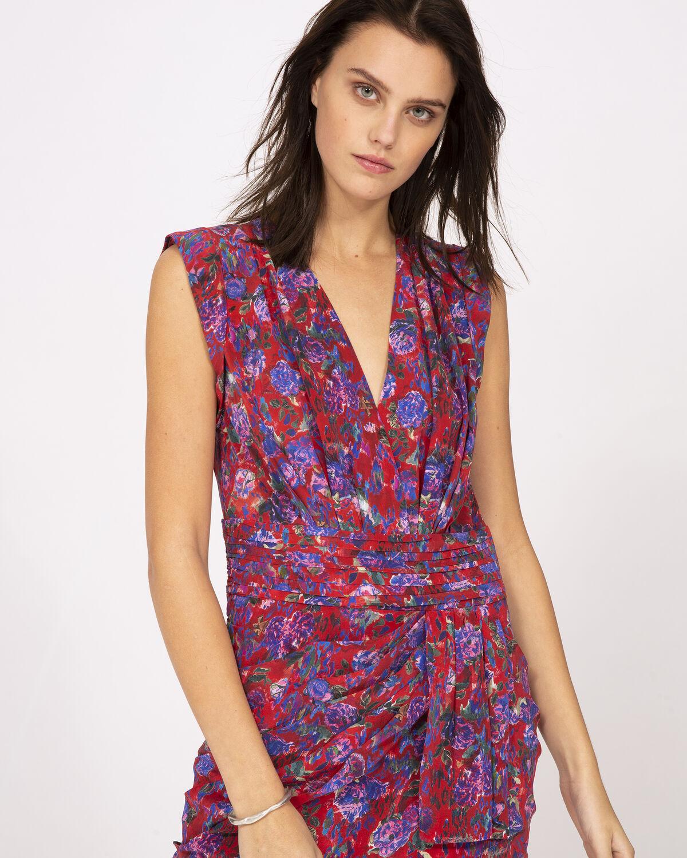 IRO - SWING DRESS RED