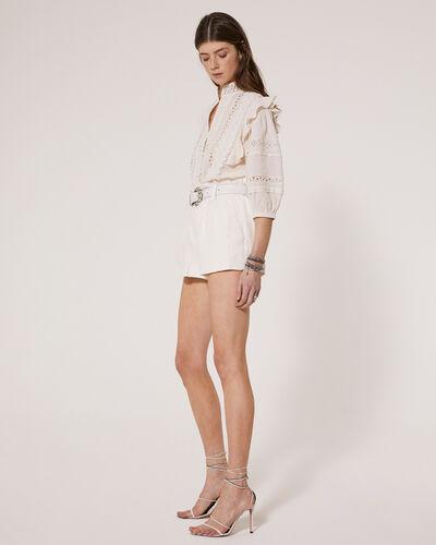 IRO - REDONA TOP CLOUDY WHITE