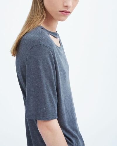 IRO - LASSLA T-SHIRT STEEL GREY