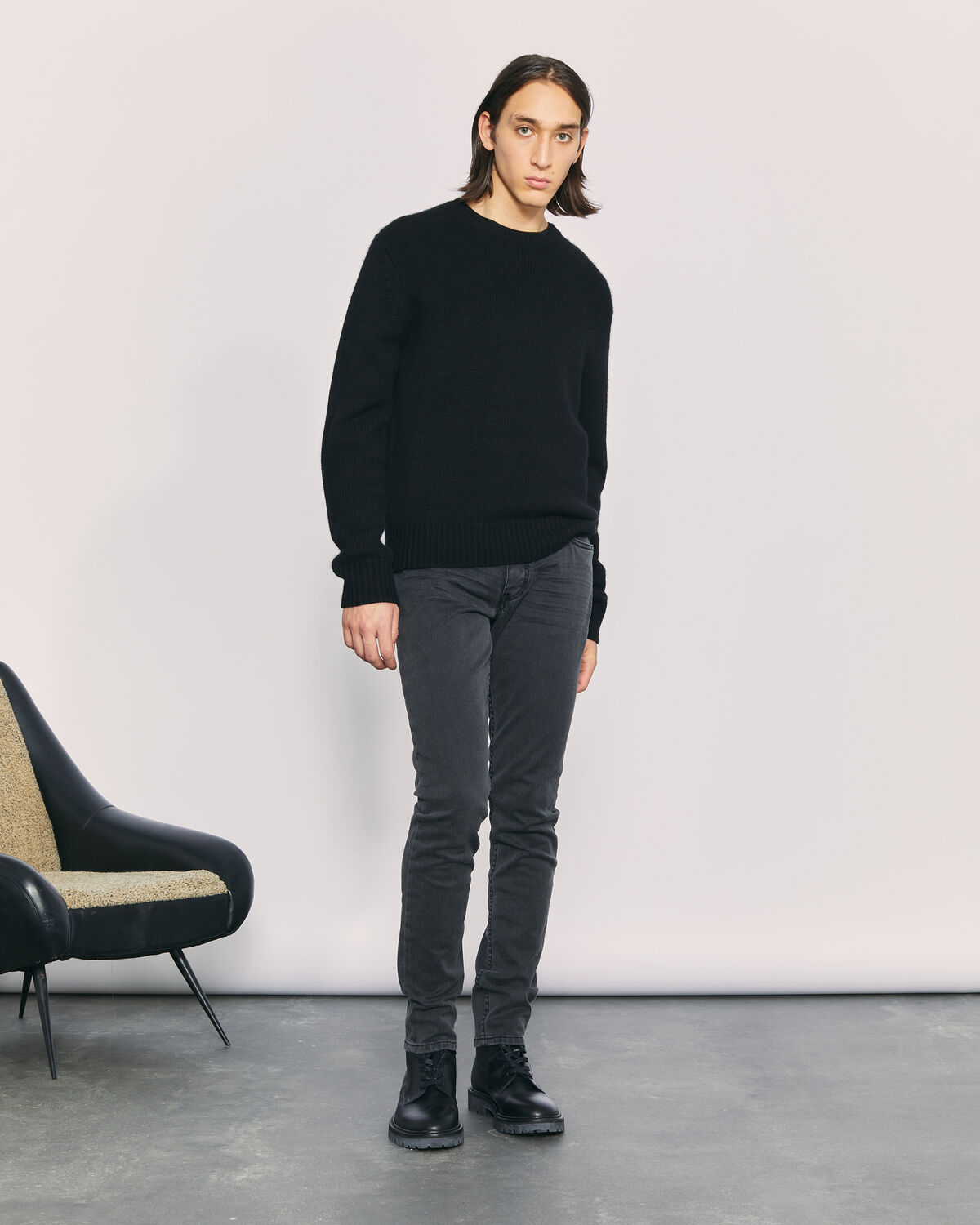 IRO - RICK CASHMERE SWEATER BLACK