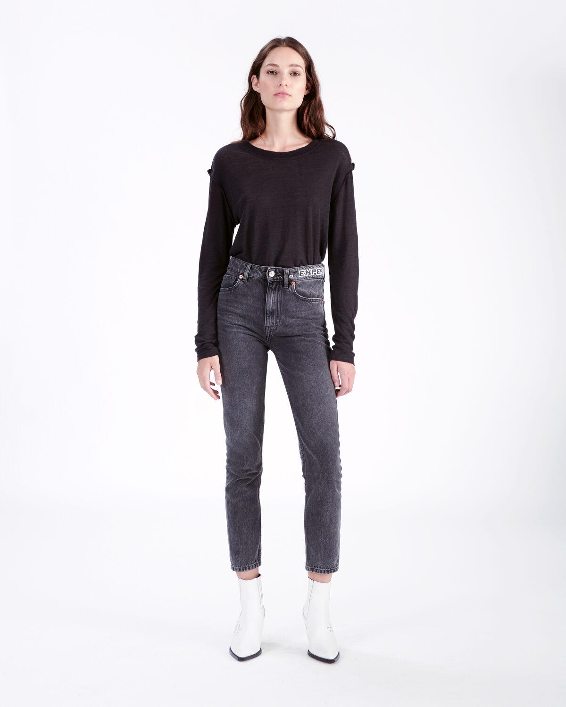 IRO - PEACEFUL T-SHIRT BLACK