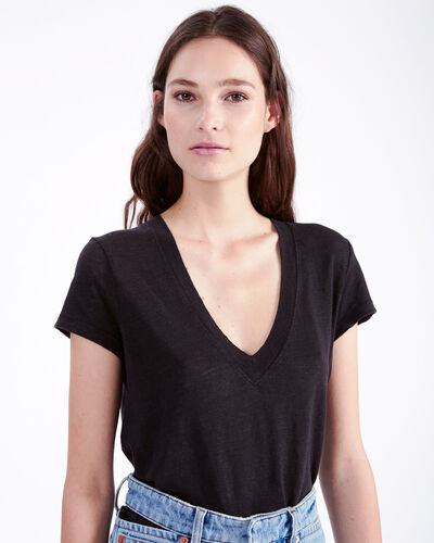 IRO - RODEO T-SHIRT BLACK