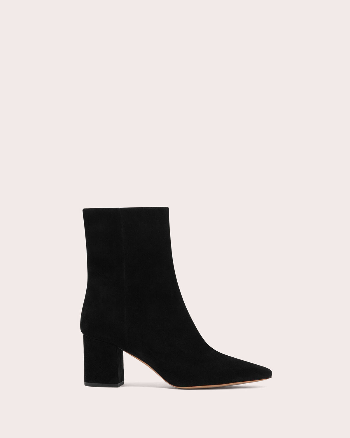 IRO - HELENS SUEDE POINTED ANKLE BOOTS BLACK