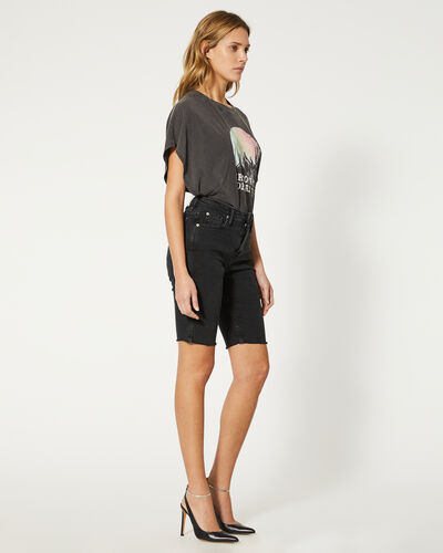 IRO - SMOKY T-SHIRT BLACK STONE