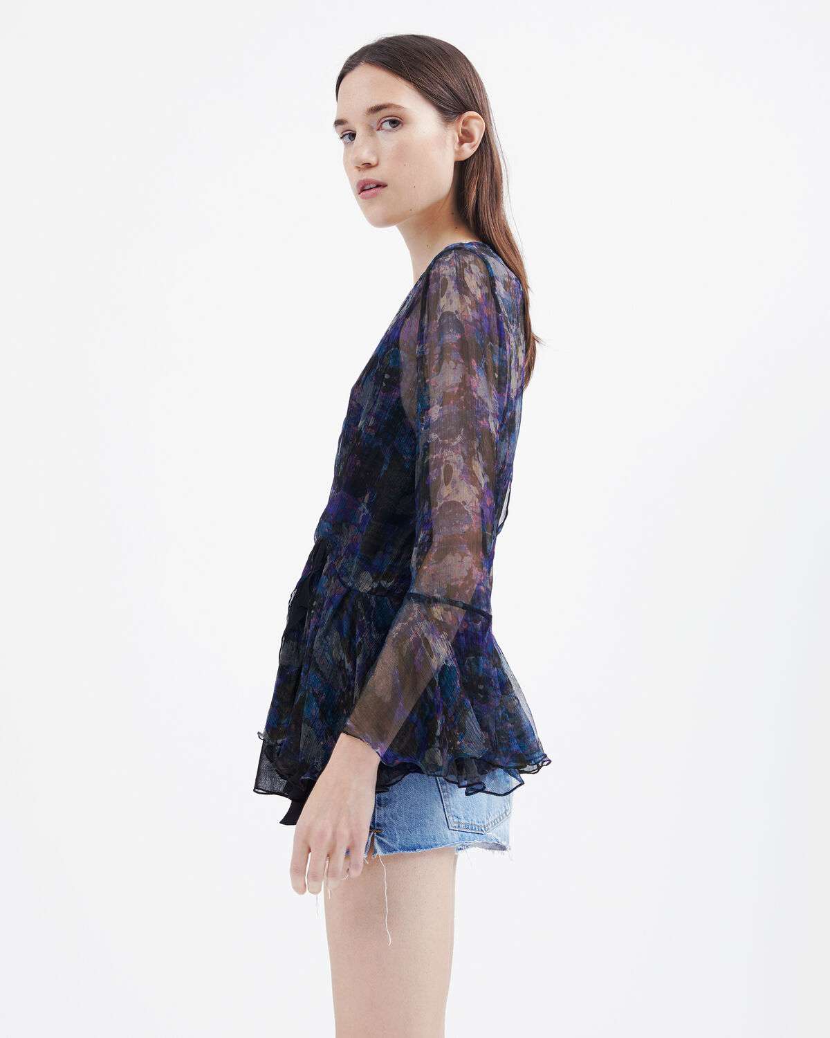 IRO - TOP JORIE MULTICO BLUE