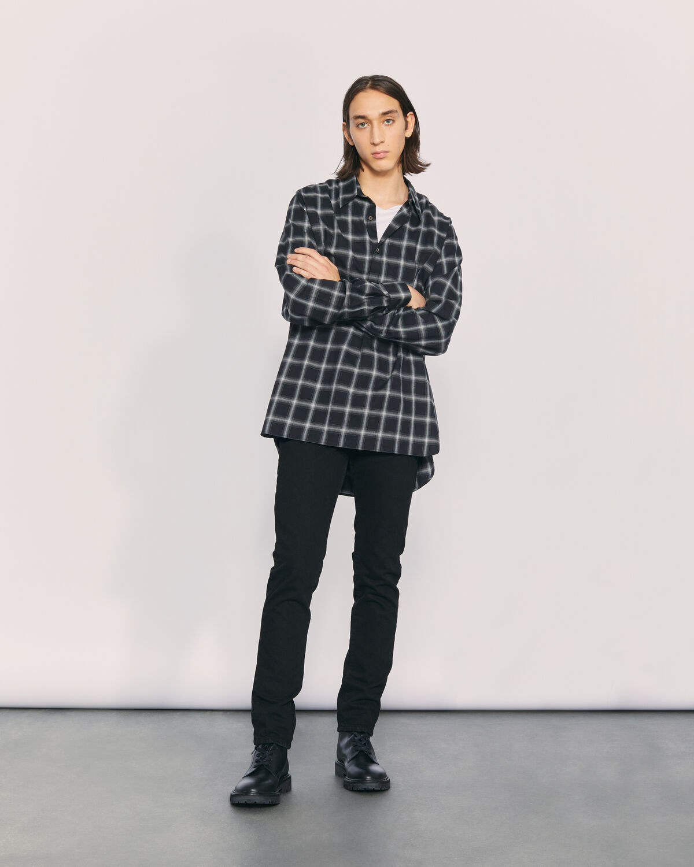 IRO - KOOPER OVERSIZED SHIRT BLACK/CREAM