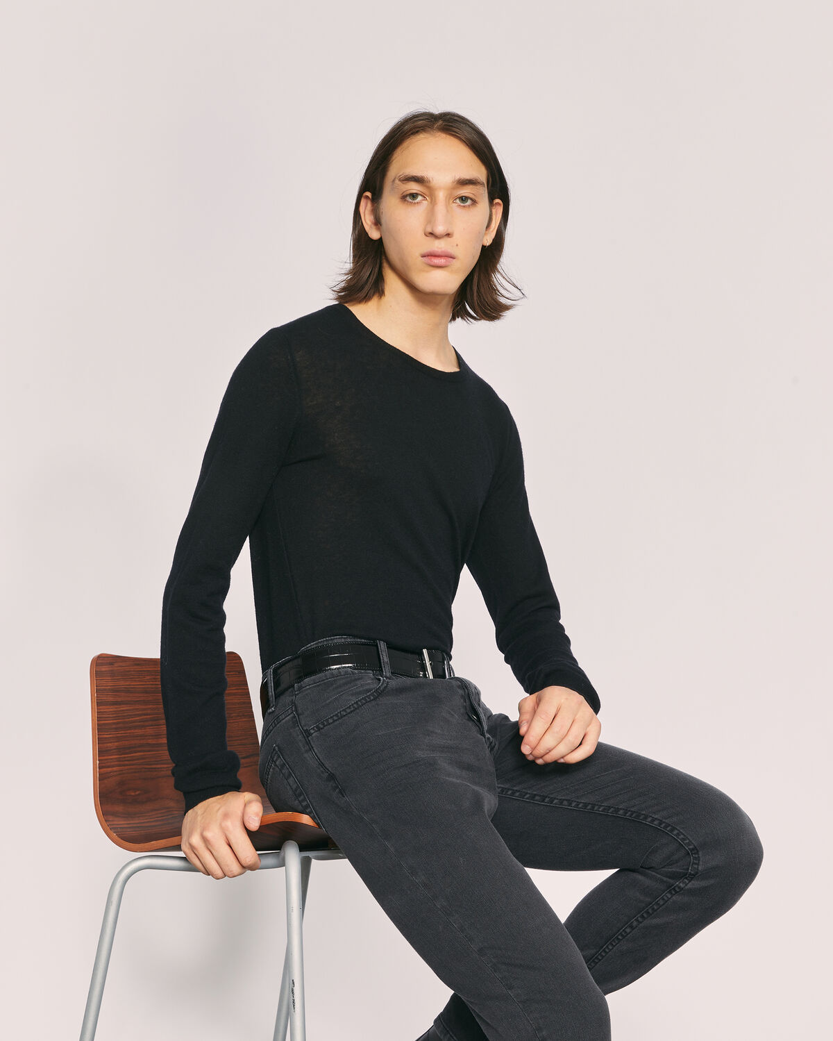 IRO - RAGE WOOL SWEATER BLACK
