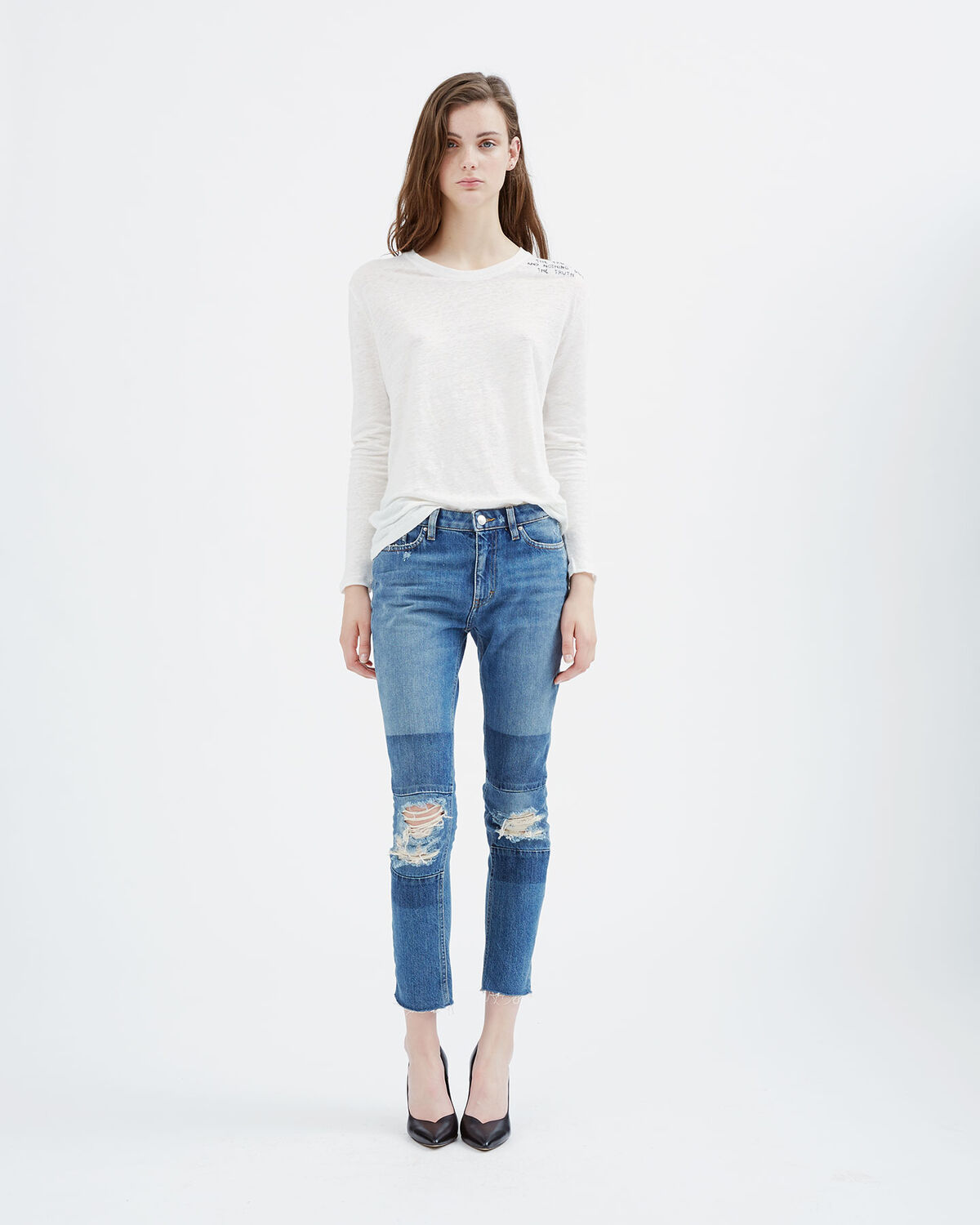 IRO - JEAN SOLANGE LIGHT BLUE DENIM