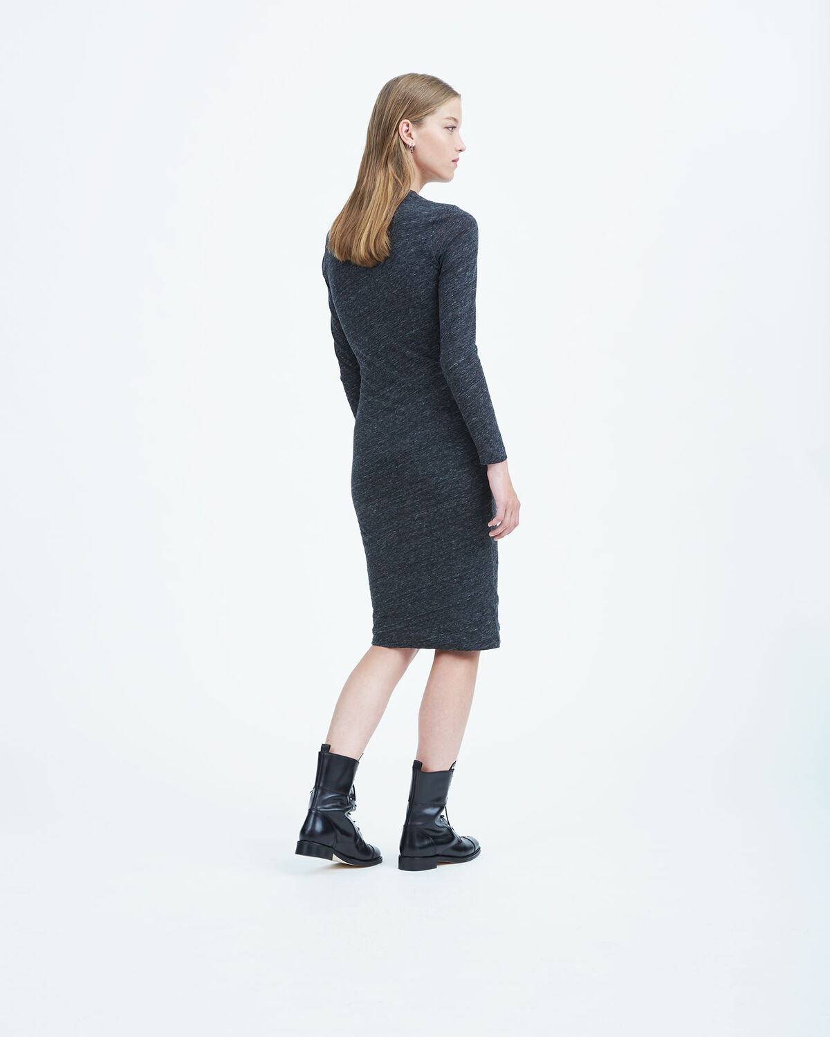 IRO - NAPINKA DRESS ANTHRACITE