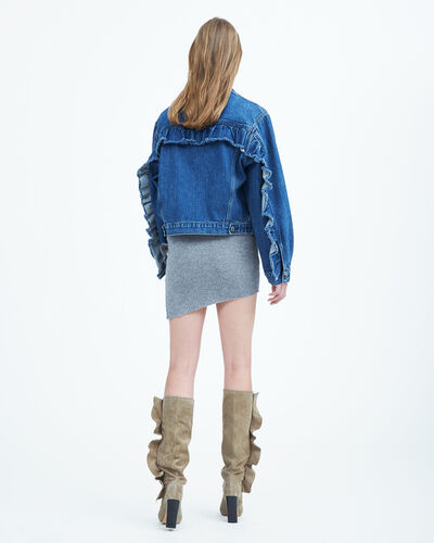 IRO - DONNA.US JEANS JACKET BLUE DENIM