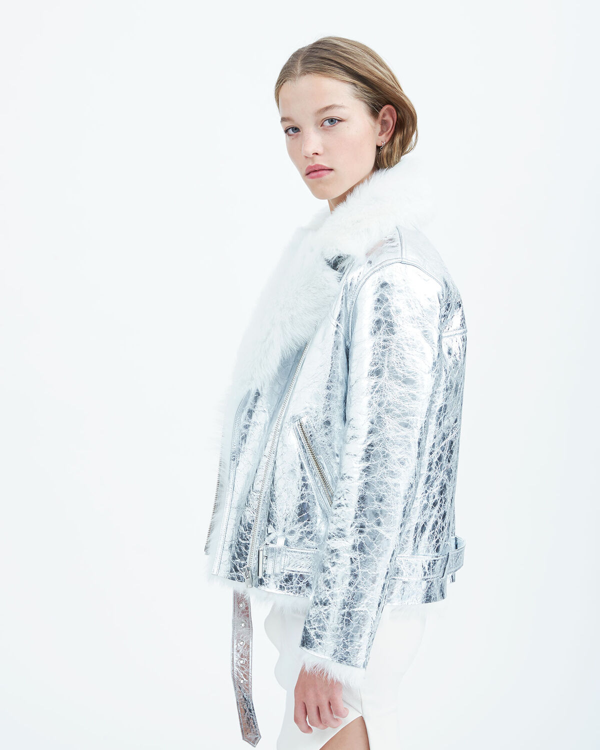 IRO - MANTAA COAT WHITE