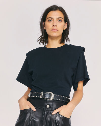 IRO - BELLY T-SHIRT BLACK