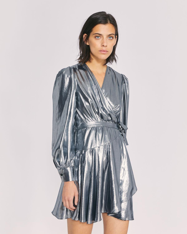 IRO - MATCHA DRESS SILVER